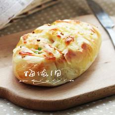 香葱奶酪火腿面包