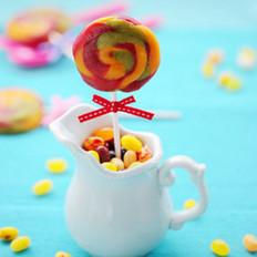 彩虹棒棒糖馒头