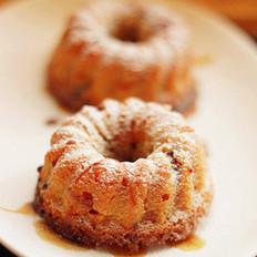 酒蜜甜果小蛋糕