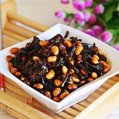 排骨海带酱黄豆