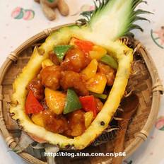 菠萝船咕咾肉