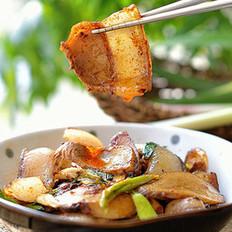 杏鲍菇回锅肉