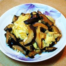 香菇炒鸡蛋