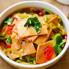 辣炒千页豆腐