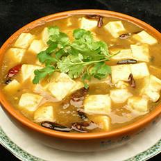草鱼炖冻豆腐