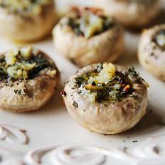 蒜香煎口蘑的做法