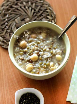绿豆薏米粥的做法