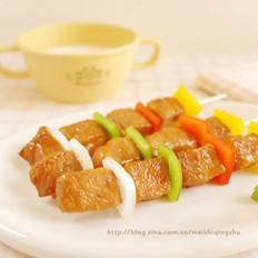 酱烤鸡肉串