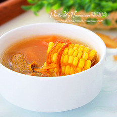 虫草花玉米猪骨汤