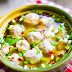 丸子汤的做法