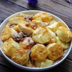 香煎玉子豆腐