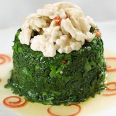 菠菜清肠排毒的美食圣品