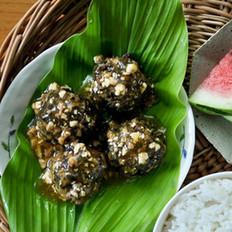 梅干菜鲜肉丸子