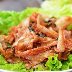 韩式炒五花肉