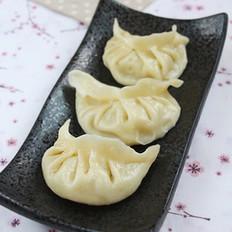 猪肉青椒豆芽蒸饺
