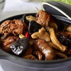 双菇红烧柴鸡