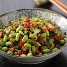 雪菜毛豆米