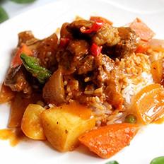 椰浆辣汤牛肉的做法