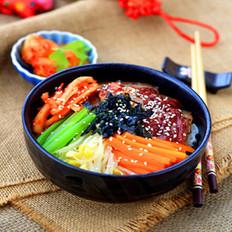 五花肉石锅拌饭