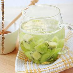 奇异果柠檬蜂蜜水的做法