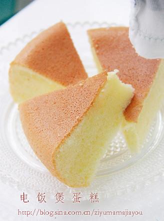 电饭煲蛋糕的做法