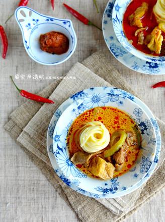 叻沙风味汤面的做法