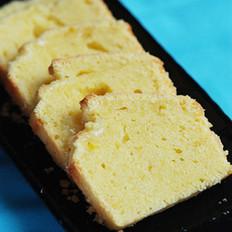 芝士柠檬磅蛋糕的做法