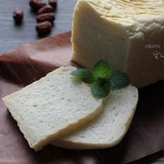 无蛋奶低糖白吐司的做法