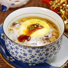 杯仔水蒸肉蛋
