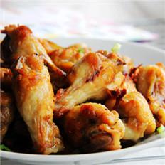 葱油姜炒鸡翅