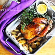 脆皮烤鸡的做法