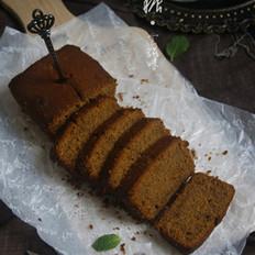 枣泥红糖磅蛋糕