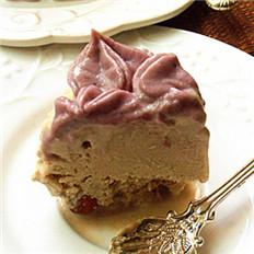姜味豆腐冰淇淋蛋糕