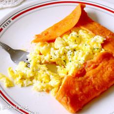 番茄饼奶酪蛋