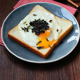 海苔土司煎蛋