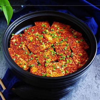 香辣干锅豆腐