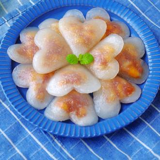 水晶爱心饺子