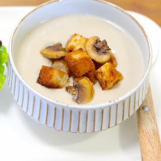 菌菇奶油浓汤