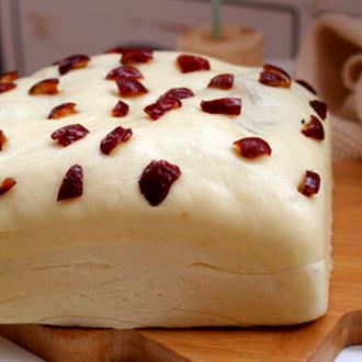 牛奶红豆蒸糕