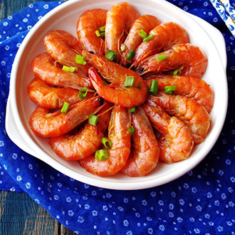 蚝油团圆虾