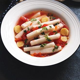 番茄煮年糕