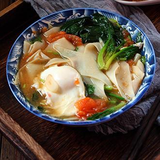 西红柿片汤