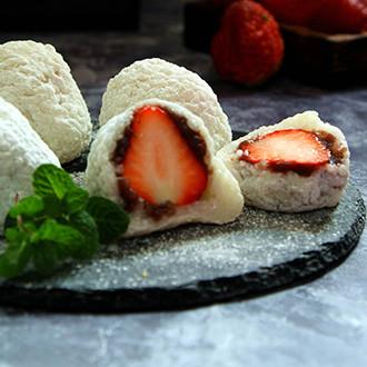 糯米版草莓大福