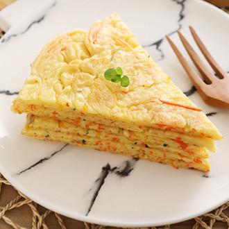 南瓜鸡蛋早餐饼
