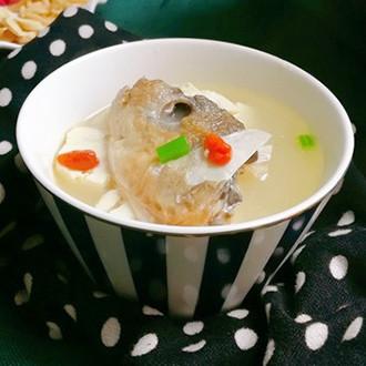 豆腐魚頭湯