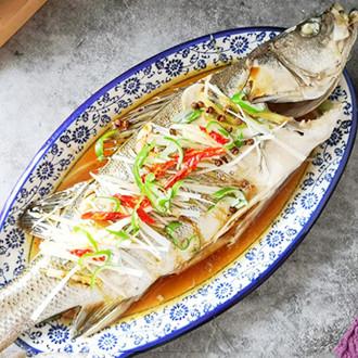 椒香清蒸鱸魚