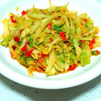 剁椒洋白菜