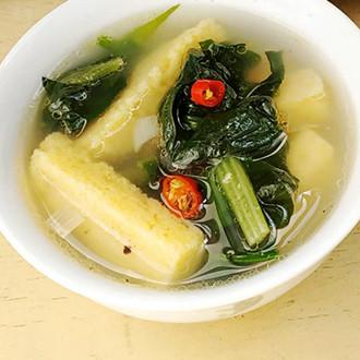 杂粮菠菜汤