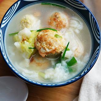 丸子疙瘩汤面