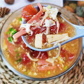 减脂酸辣汤